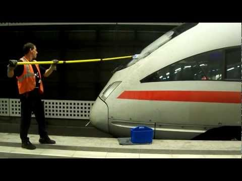 EXCLUSIVE: Passenger Trains in Berlin, Germany (Including cleaning the ICE)