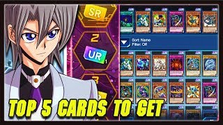 Yu Gi Oh Duel Links TOP 5 COMPETITIVE SR