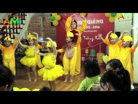 MẦM NON AMI - KHAI GIẢNG NĂM HỌC 2015 - 2016