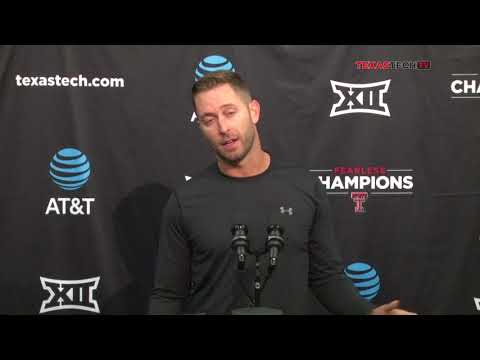 Texas Tech Football Weekly Press Conference - 9-12-17