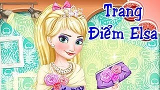 Game Thời Trang Công Chúa Băng Giá Elsa Đi Dự Tiệc Xinh Đẹp