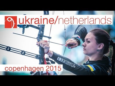Ukraine v Netherland – Compound Women's Team Gold Final | Copenhagen 2015