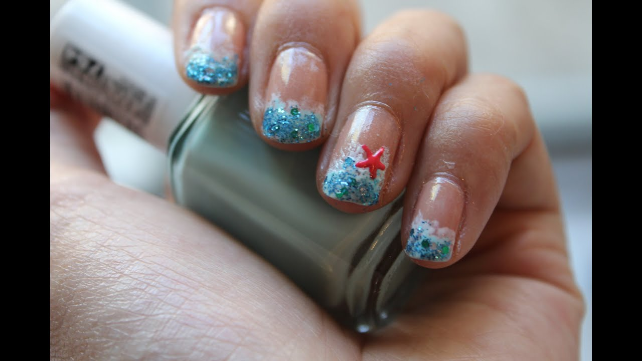 Summer beach nail art summer 2013 youtube prinsesfo Gallery