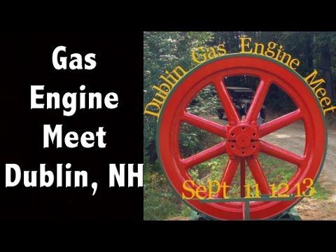 Gas Engine Festival - Dublin - New Hampshire Tourism - Antique Engine Show