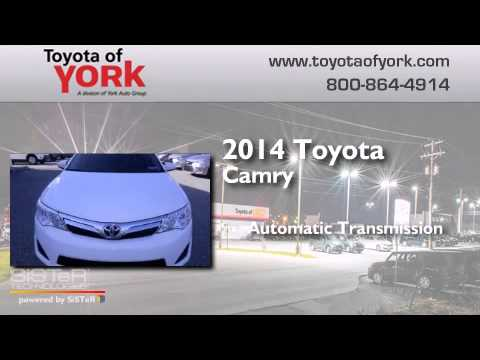 2014 toyota camry york pa youtube. Black Bedroom Furniture Sets. Home Design Ideas