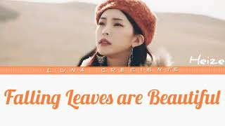 Heize - Falling Leaves are Beautiful ( Lyrics Color Coded ) - Pt/br / Eng