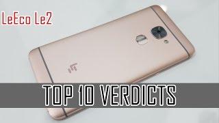leeco le2 top 10 verdicts popular reviews
