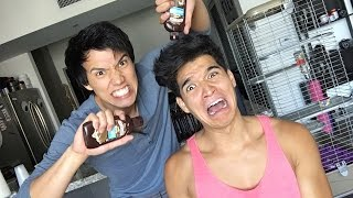 100 LAYERS OF MAGiC SHELL CHOCOLATE SYRUP!! PT. 1
