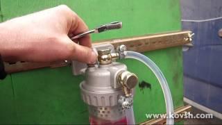 Принцип действия отстойника воды ФГО-2