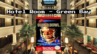 Tecmo Super Bowl 2 v 2 - Hotel Room - Green Bay, WI