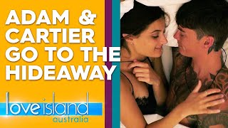 Adam and Cartier spend a night together in the Hideaway | Love Island Australia 2019