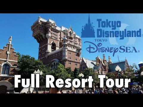 Tokyo Disney Resort Full Tour (Disney Sea & Disneyland)