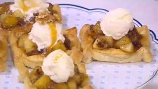 بالفيديو.. 'فطائر بالتفاح والقرفة' فى 'حلو حادق' علي طريقة سالي فؤاد