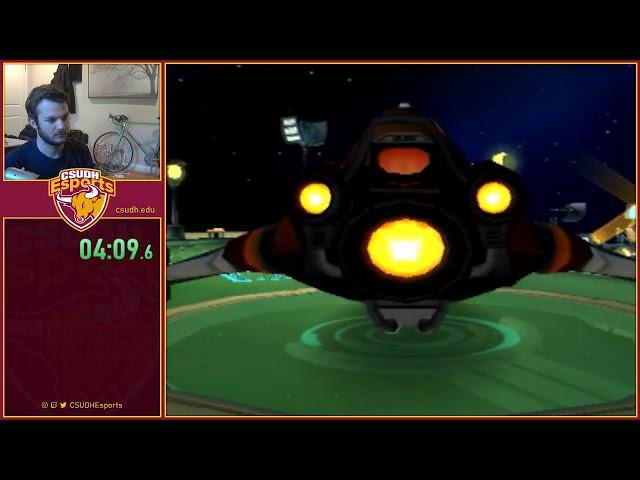 Ratchet & Clank 2 Speedruns feat. Ruh - CSUDH Esports (04/04/2020)