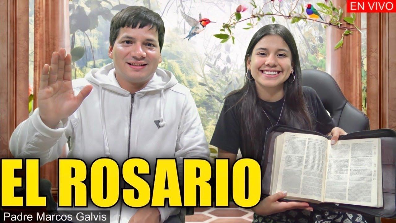 EL SANTO ROSARIO es bíblico ? - PADRE MARCOS GALVIS EN VIVO