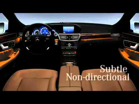 Ambient Lighting System E Class - YouTube