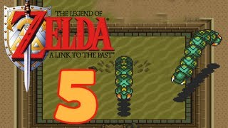 Let's Play The Legend of Zelda A Link to the Past Part 5: Zerbohrt von den Lanmola