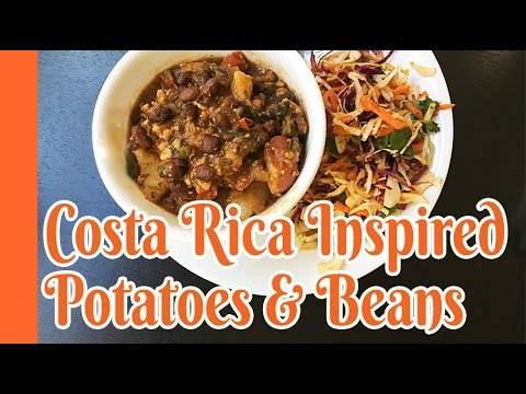 Jill's Trying McDougall Costa Rican Potatoes and Beans