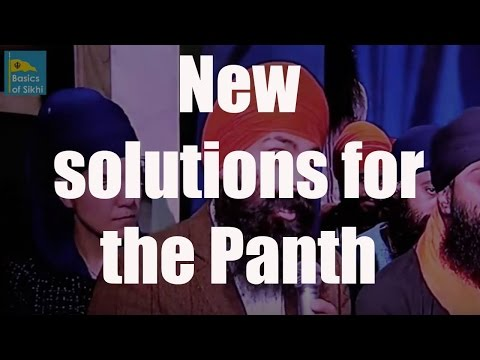 Possible solutions for Panthic problems - Sikh Channel Youth Show