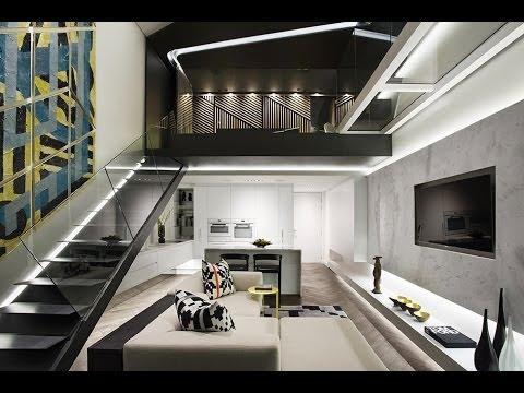 Dise o de minidepartamento moderno youtube for Diseno de interiores de apartamentos modernos