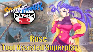 [TAS] - Street Fighter Alpha 2 (Arcade/CPS2) - Rose - Full Perfect