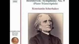 Beethoven/Liszt - Symphony No 9 Piano 1st Movement Part 2 of 2