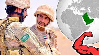Чья армия на АРАВИЙСКОМ ПОЛУОСТРОВЕ самая сильная ?⭐ 7 сильнейших стран ! Саудовская Аравия или ОАЭ?
