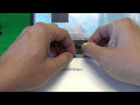 HP Pavilion TouchSmart 14 Sleekbook Laptop Screen Replacement Procedure