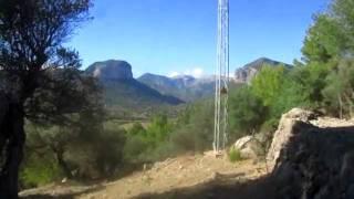 Pujant al coll d'En Simonet (Binissalem-Mallorca)