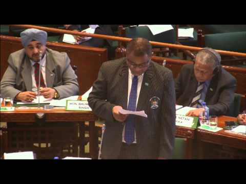 Response by Fijian Minister for Defence, National Security and Immigration, Hon. Timoci Natuva..