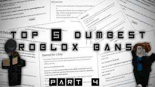 Top 5 Dumbest ROBLOX Bans (Pt. 4)