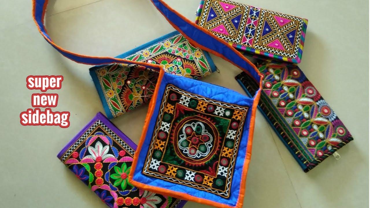 de4c4ca191 New Super Sidebag Diy| how to make side bag in hindi like amazon ...