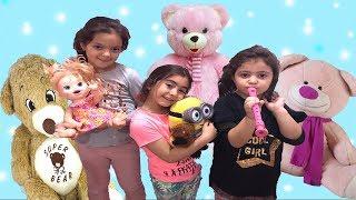 BİR TATİL GÜNÜ 3 ÇOCUK İLE 24 SAAT!!! 24 Hours with 3 Kids