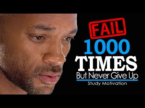 FAIL YOUR WAY TO SUCCESS - Motivational Video on Never Givin