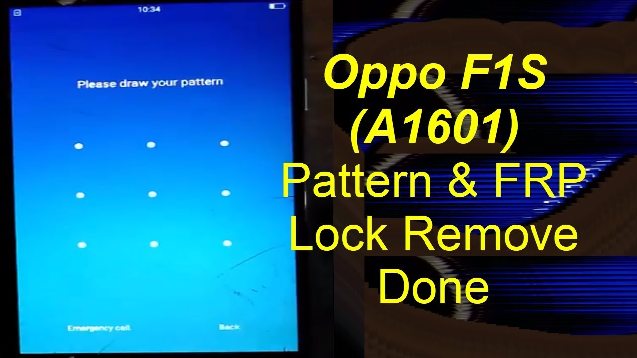 Oppo F1s (A1601) Pattern & FRP Lock | Mobile Solution Point
