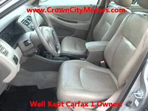 Used 1999 Honda Accord EX V6 Sedan for Sale in Pasadena CA www.CrownCityMotors.com