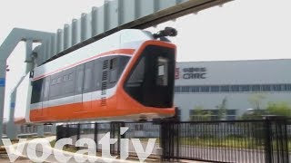 China Unveils Its Fastest Monorail