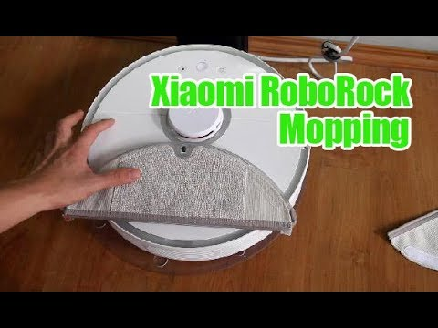 Xiaomi S50 RoboRock Mopping Demo