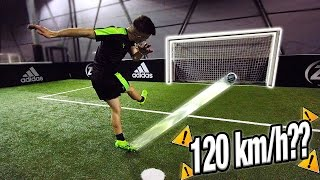 Diginho supera i 120 km/h?? power shot challenge
