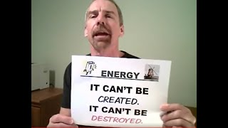 The ENERGY Song -NOW WITH CLOSED CAPTION SO YOU CAN SING ALONG!  Mr. Edmonds  -