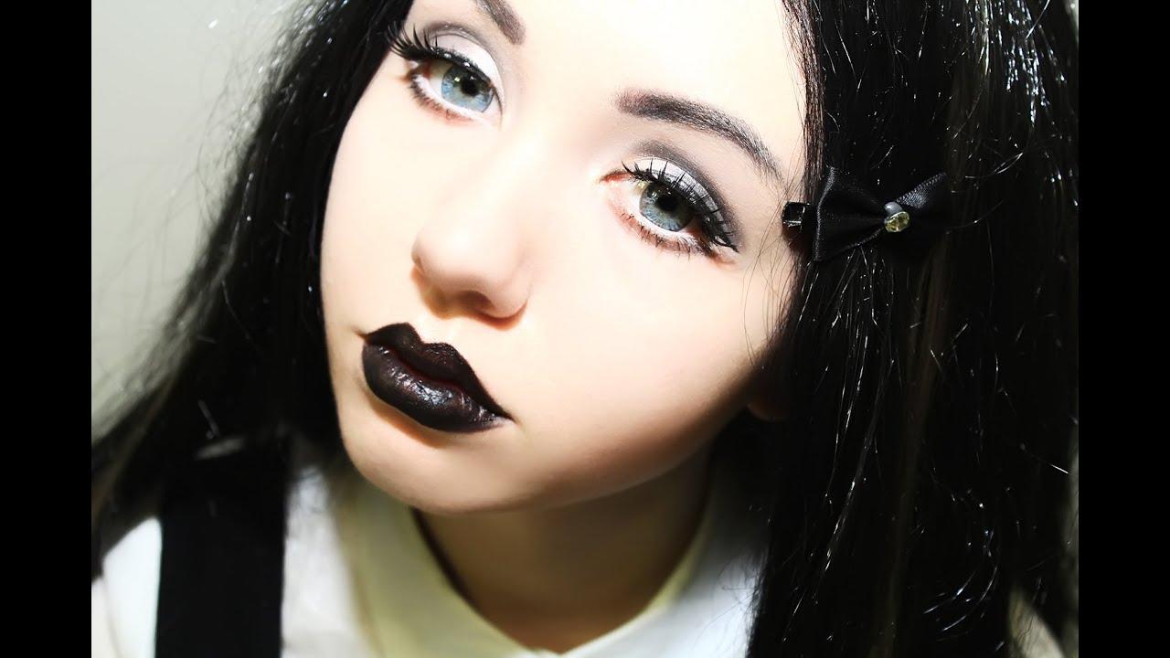 Tutorial Makeup Gothic Doll Look Leah Nadel