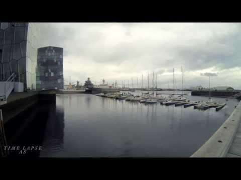 Time Lapse Reykjavik Iceland Part 1