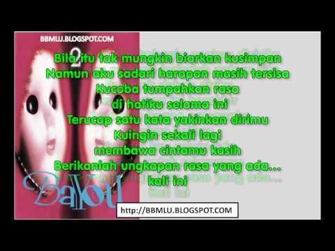 Bayou - Kali Ini (karaoke) | LIRIKMUSIK10