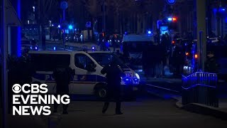 Suspect in French terror attack killed by police