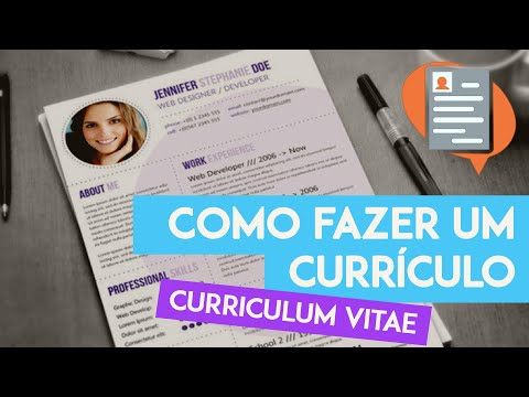 Currículo pronto, e agora? from YouTube · Duration:  7 minutes 39 seconds