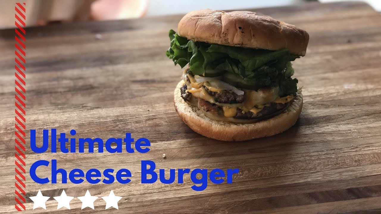 Ultimate Cheese Burger Recipe Ballistic Bbq Hamburger Smasher Review Youtube