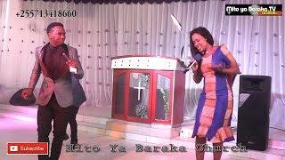 Masanja na Mke wake Wakiimba Pamoja kwenye Ibada Mito Ya Baraka