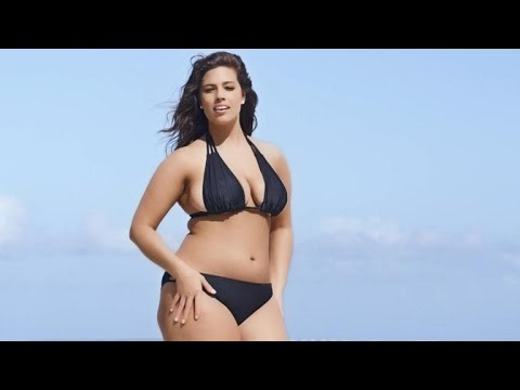Plus Sized Model Ashley Graham Rocks Tiny Bikini In Sports Illustrated Swimsuit Ad