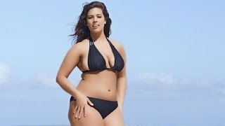 Plus-Sized Model Ashley Graham Rocks Tiny Bikini in 'Sports Illustrated' Swimsuit Ad thumbnail