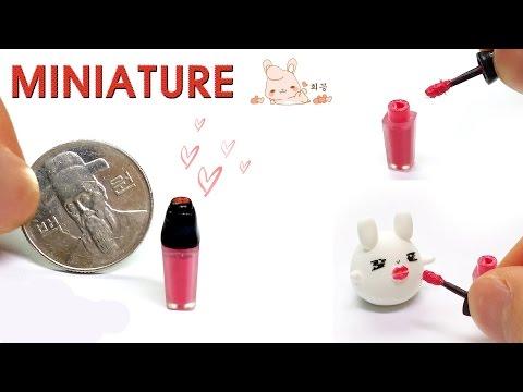 [Miniature] 미니어쳐 립글로스 만들기-  Lip gloss